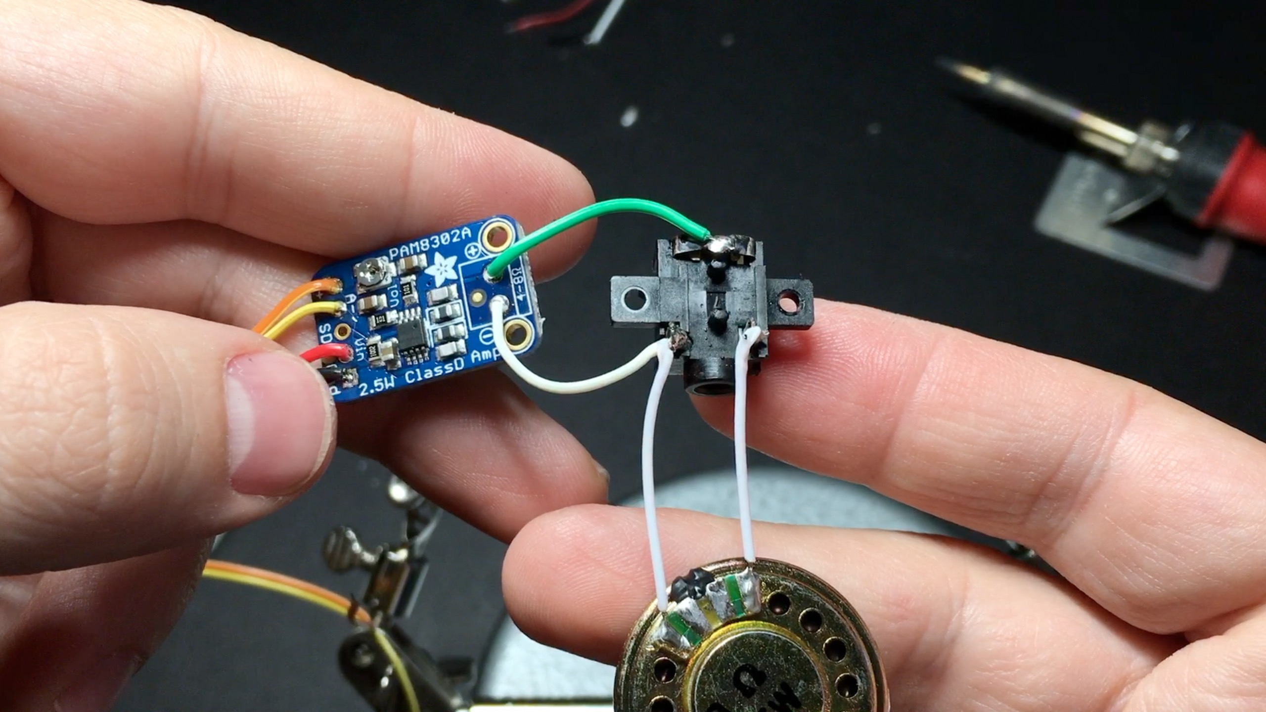 Game Boy Zero Guide Part 4 Sudomod Amp Speaker Jack Wiring And Headphone To