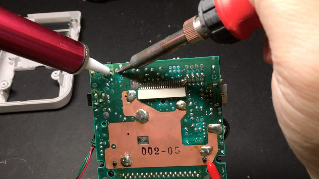 Desoldering Power Switch